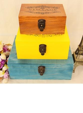 Presentes Da Noiva - Bonito Clássico De Madeira Caixa de jóias