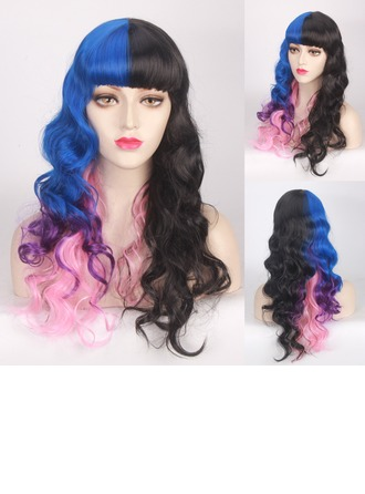 Loose Wavy Synthetic Hair Capless Wigs Cosplay/Trendy Wigs 250g