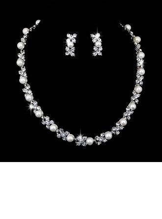 Hermoso Aleación con Perla/Rhinestone Señoras' Sistemas de la joyería