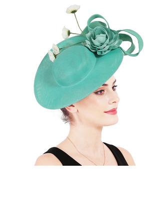 Ladies' Glamourous/Elegant With Flower Fascinators/Kentucky Derby Hats