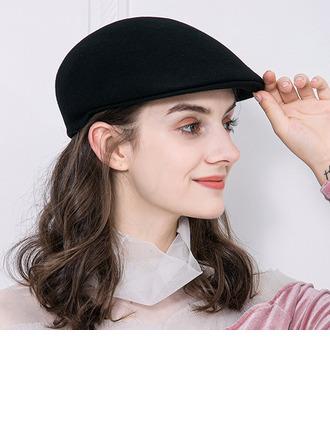 Signore Elegante Lana Basco Cappello