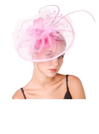 Dames Spécial/Style Classique/Élégante/Unique/Simple Fil net avec Feather Chapeaux de type fascinator/Kentucky Derby Des Chapeaux