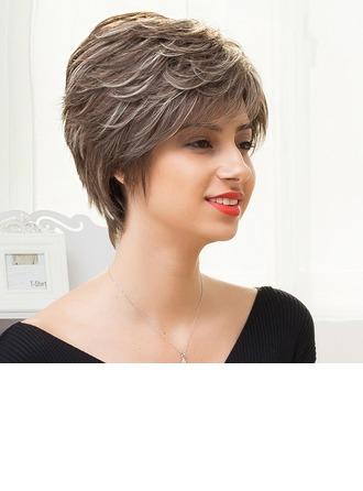 Straight Pixie Human Hair Wigs