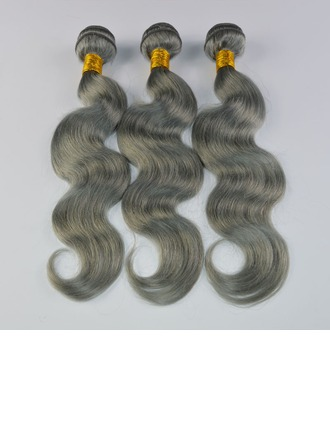 4A Body Human Hair Human Hair Weave (Sold in a single piece)