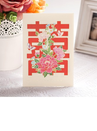 Asiatisk stil Side Vik Invitation Cards (Sats om 50)