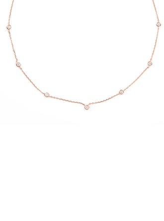 Silber Zirkonia Kreis Charm Halskette Für Frauen Für die Freundin