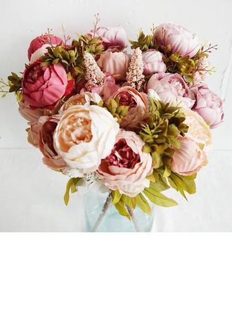 Элегантные Свободной формы шелковые цветы Декорации/Свадебный Таблица цветов -