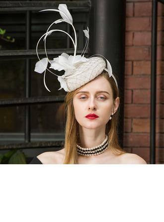 Senhoras Charmosa/Elegante/Atraente/Bonito Cambraia Fascinators