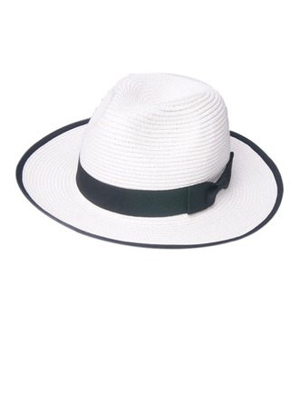 Unisex Mais quente Palha Salgada Chapéu de palha/Chapéu panamá/Kentucky Derby Bonés