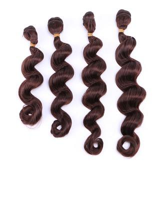 En vrac cheveux synthétiques Tissage en cheveux humains (Vendu en une seule pièce) 50 g