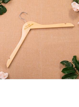 Groomsmen Geschenken - Persoonlijke Elegant Houten Hanger