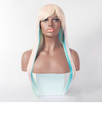 Straight Long Capless Synthetic Wigs