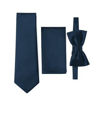 moderne stil Slips sløyfe Pocket Square satin