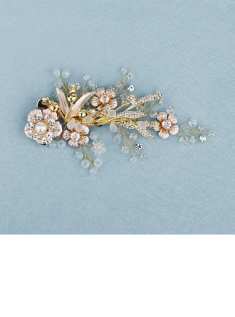 Beautiful Crystal/Rhinestone/Alloy/Copper Hairpins (Sold in single piece)