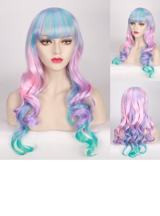 Loose Wavy Synthetic Hair Capless Wigs Cosplay/Trendy Wigs 300g