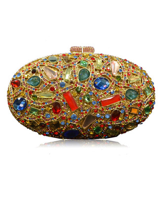 Gorgeous/Refined/Bright Crystal/ Rhinestone Clutches/Bridal Purse/Evening Bags