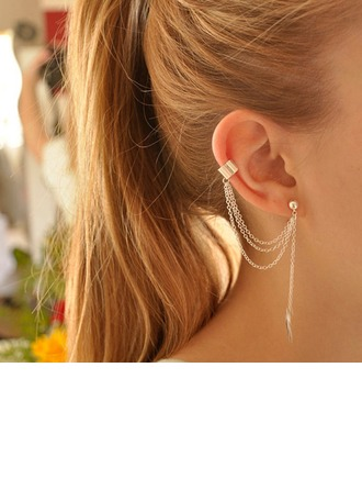 Fashional Alloy Ladies' Earrings(Sold in a single piece)