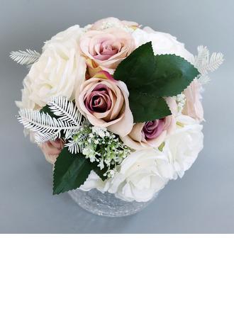 Jolie Rond Bouquets de mariée - Bouquets de mariée