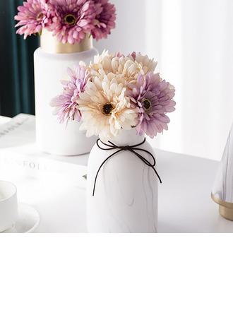 Fleur en soie/Plastique Décorations (vendu en une seule pièce) -