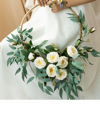 Pretty Artificial Flower Wedding Table Flowers (Sold in a single piece) -