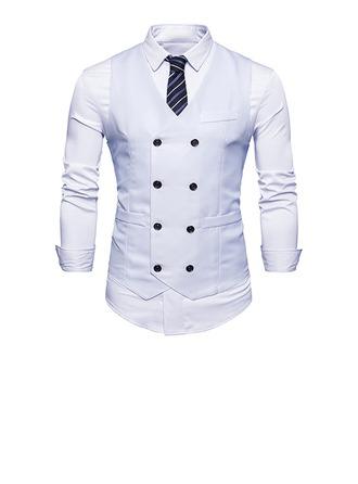 Classic linen Men's Vest