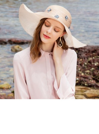 Ladies' Simple/Nice Cambric Beach/Sun Hats