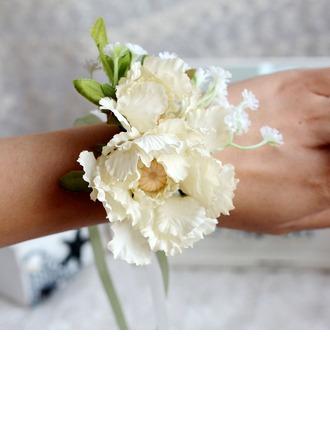 Cute Satin Wrist Corsage