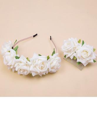 Ladies Beautiful Flannelette Headbands (Set of 2)