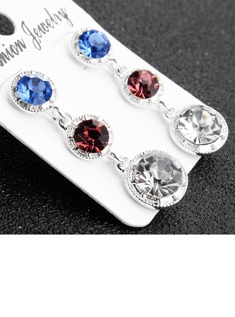 Ladies' Beautiful Alloy Earrings For Bride/For Bridesmaid/For Mother