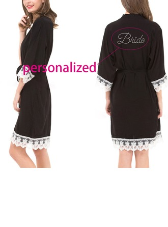 Personalized Cotton Bridal/Feminine Robe (20 letters or less)