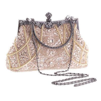 Fashionable Acrylic/Beading Clutches/Top Handle Bags