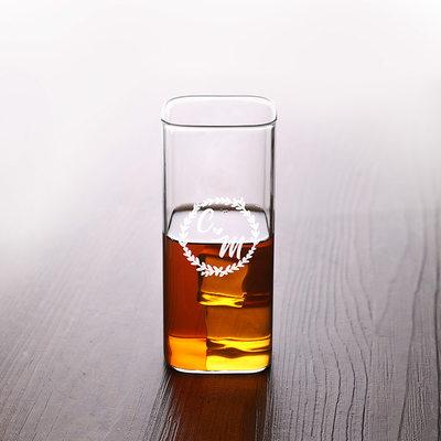 Groom Prezenty - Spersonalizowane Nowoczesny Klasyczny Elegancki Szkło Wyroby szklane i barware