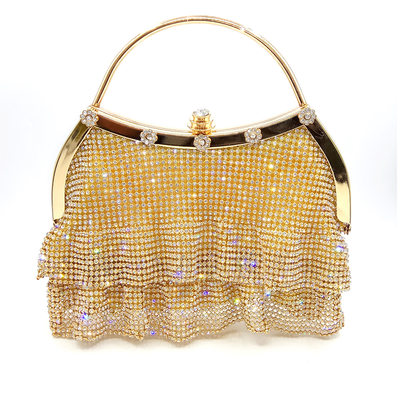 Elegant Polyester Clutches/Top Handle Bags