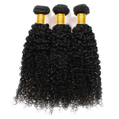 5A Virgin/remy Kinky Curly Human Hair Human Hair Weave (Sold in a single piece) 100g