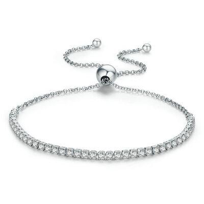 Geplatineerd Fijne ketting Bruids armbanden Bolo armbanden - Valentijnsgeschenken Voor Haar