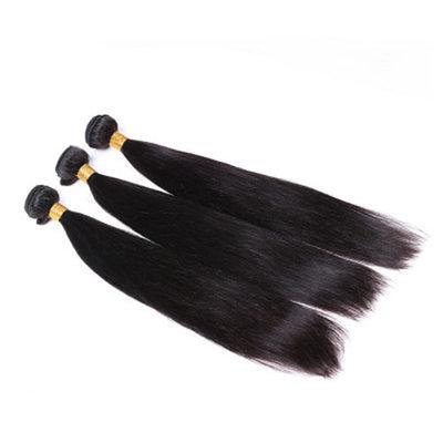 5A Jungfrau / Remy Gerade Menschliches Haar Geflecht aus Menschenhaar (Einzelstück verkauft) 100g