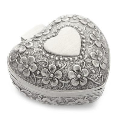 Cadeaux De Demoiselle D'honneur - Style Classique Élégant Alliage Boîte à bijoux