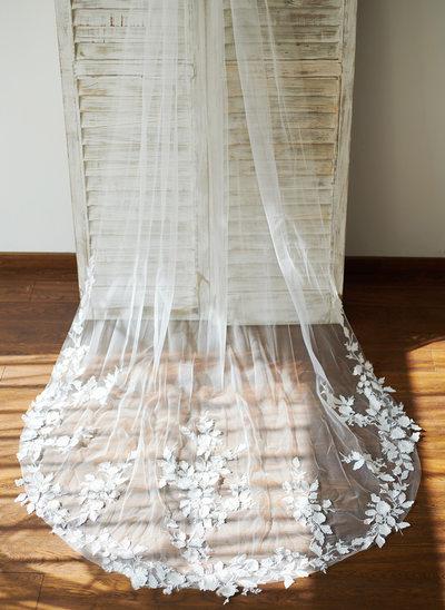 Uno strato Velare da sposa cappella con Pizzo
