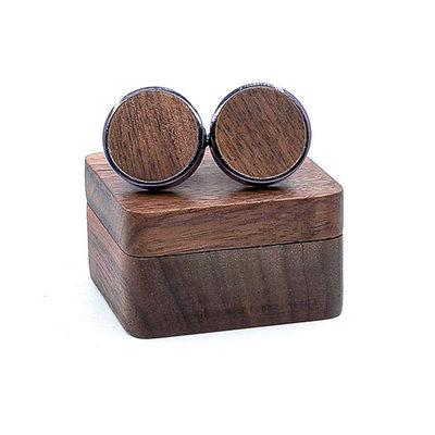 Klasický Moderní Dřevo Manžetové knoflíčky