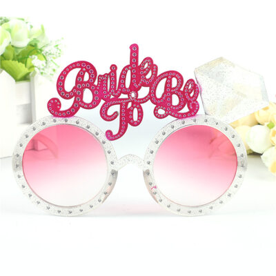 Bride Gifts - Attractive Eye-catching Glass Polyester Glasses
