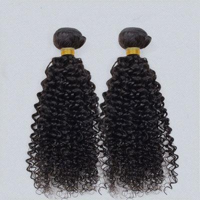 4A Nicht remy Kinky Curly Menschliches Haar Geflecht aus Menschenhaar (Einzelstück verkauft) 100g