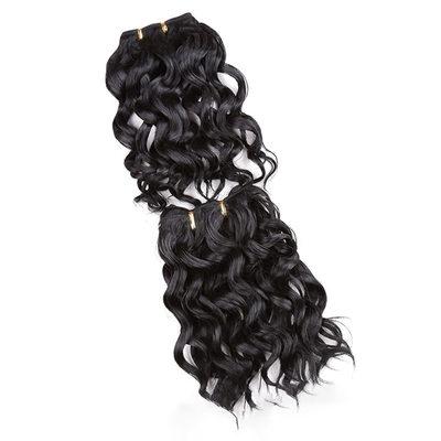 Tělo Syntetické vlasy Lidské vlasy tkát (Set of 2) 100g
