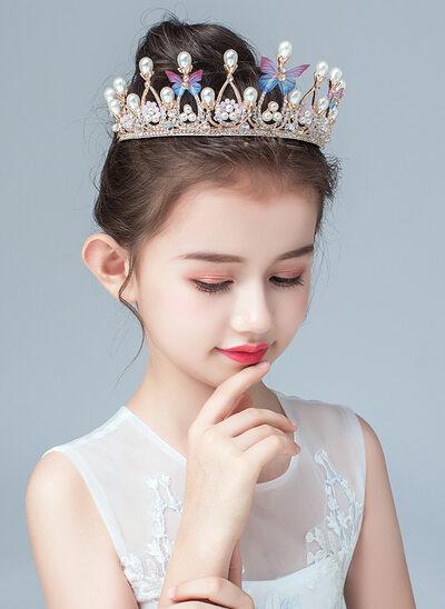 Aleación/La perla de faux/Crystal Tiaras