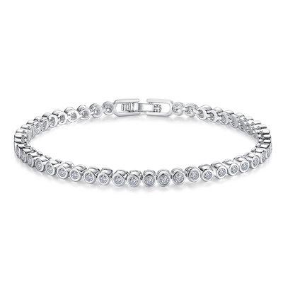 Weihnachtsgeschenke Für Sie - Zirkonia Legierung Empfindliche Kette Brautarmbänder Brautjungfer Armbänder