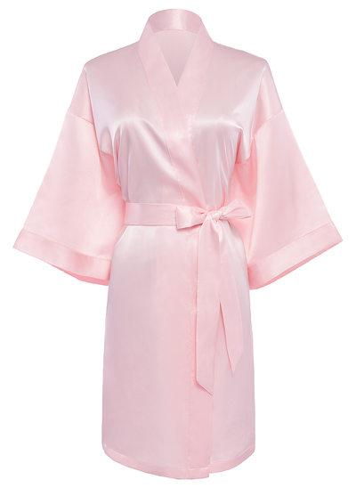 Novia La dama de honor charmeuse con Hasta la tibia Túnicas de kimono