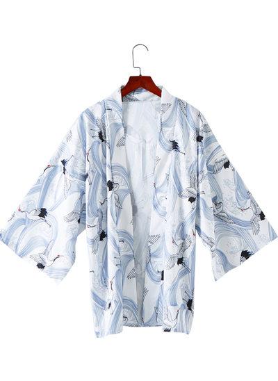 la mariée Demoiselle d'honneur Polyester avec Court Kimono robes