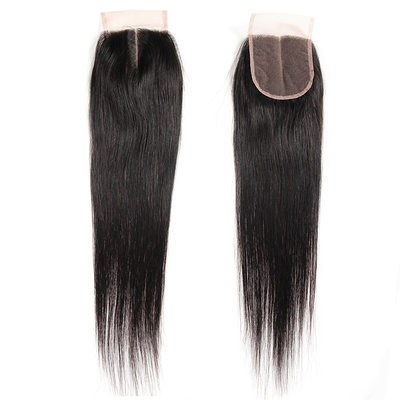 "4""*4"" 4A Non remy Straight Human Hair Closure (Sold in a single piece) 40g"