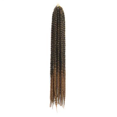 Twist Braids Synteettiset hiukset punokset 12 kpl pakkausta kohti 120g