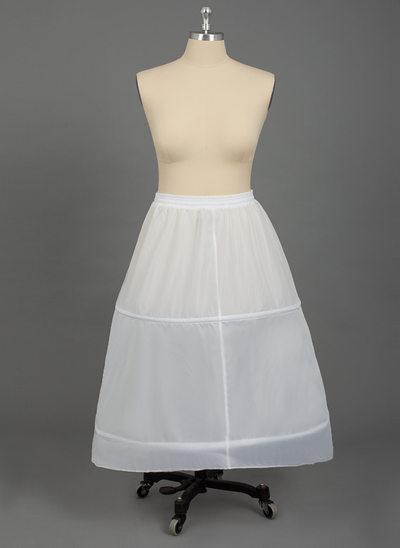 Women Nylon 1 Tiers PLUS SIZE Petticoats