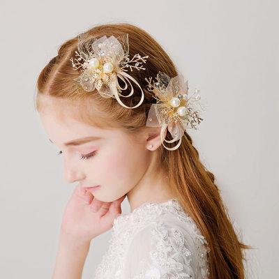 mit Faux-Perlen Haarnadeln (Set von 2)